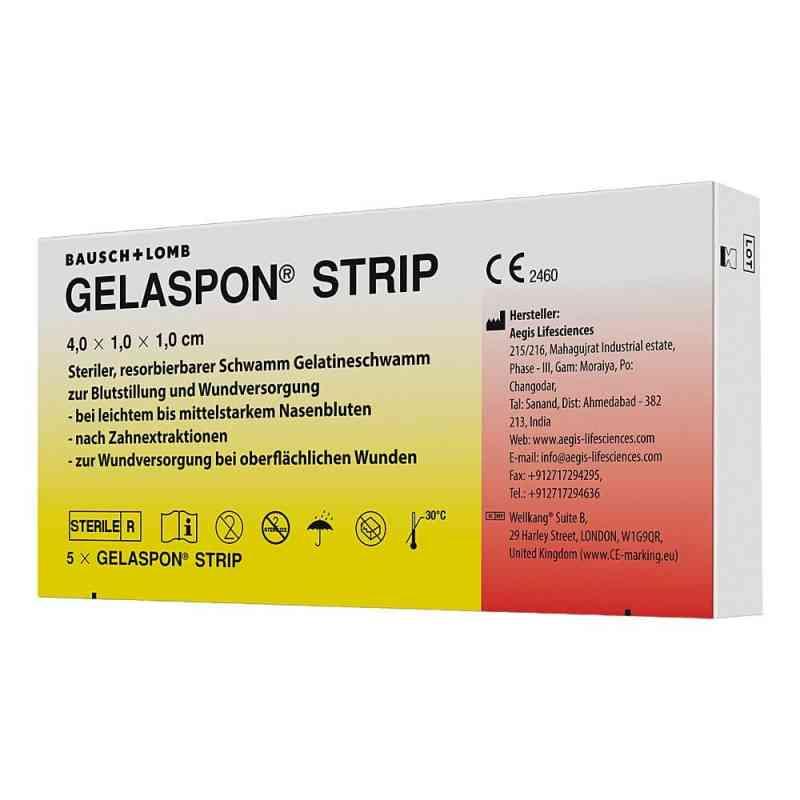 Gelaspon Strip 4x1x1 cm Streifen  bei apo-discounter.de bestellen