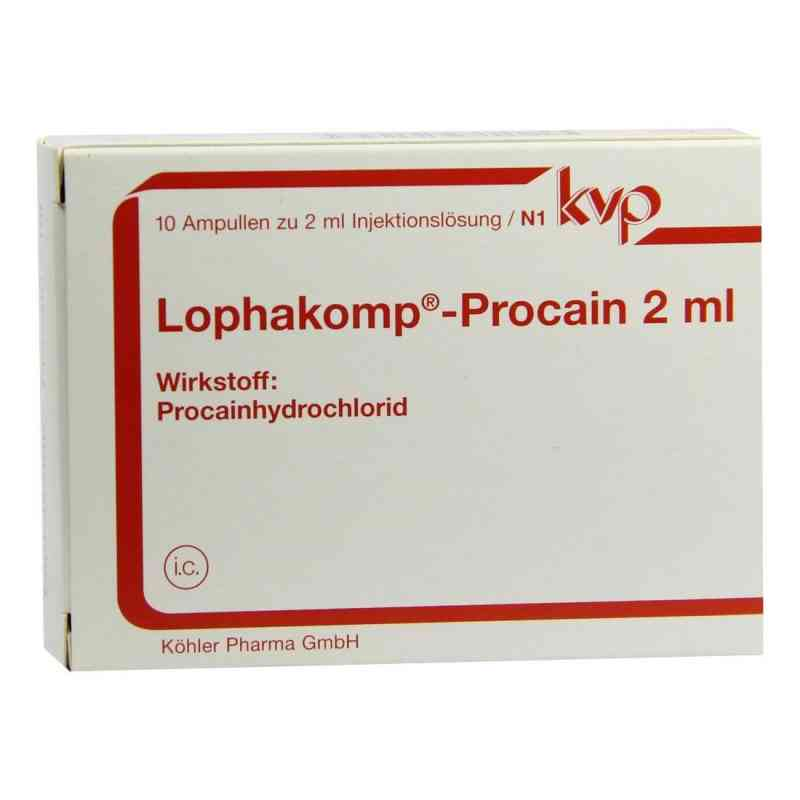 Lophakomp Procain 2 ml Injektionslösung  bei apo-discounter.de bestellen
