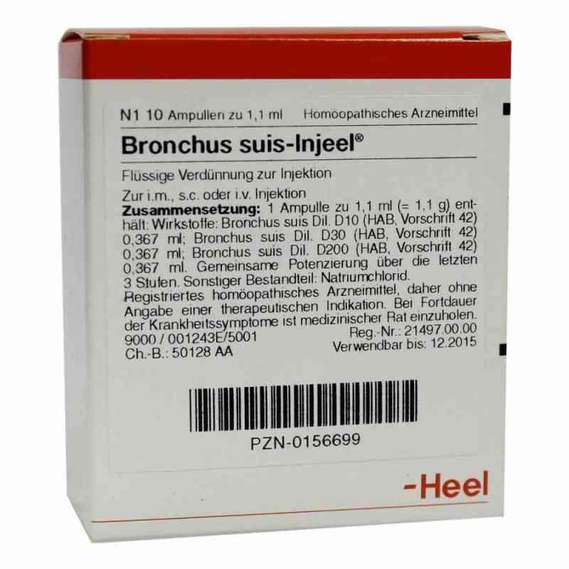 Bronchus suis Injeel Ampullen  bei apo-discounter.de bestellen