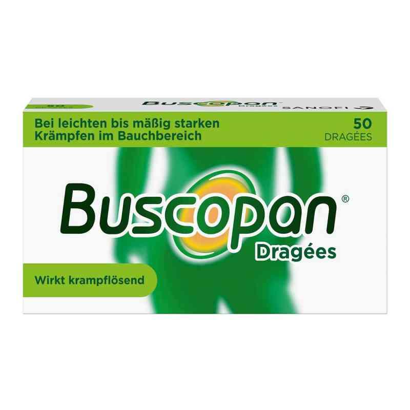 Buscopan Dragées bei leichten bis moderaten Bauchkrämpfen  bei apo-discounter.de bestellen