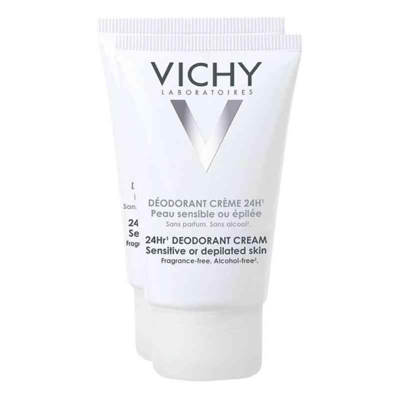 Vichy Deo Creme für empfindliche Haut Doppelpack  bei apo-discounter.de bestellen