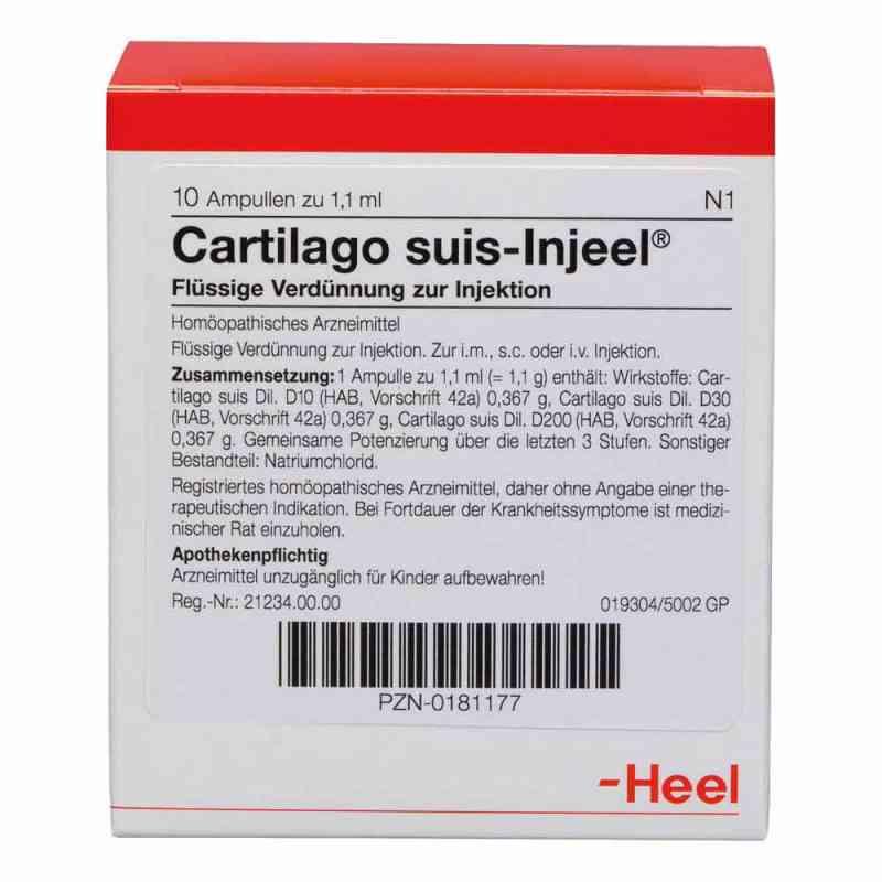 Cartilago suis Injeel Ampullen  bei apo-discounter.de bestellen