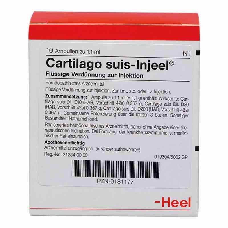 Cartilago suis Injeel forte Ampullen  bei apo-discounter.de bestellen