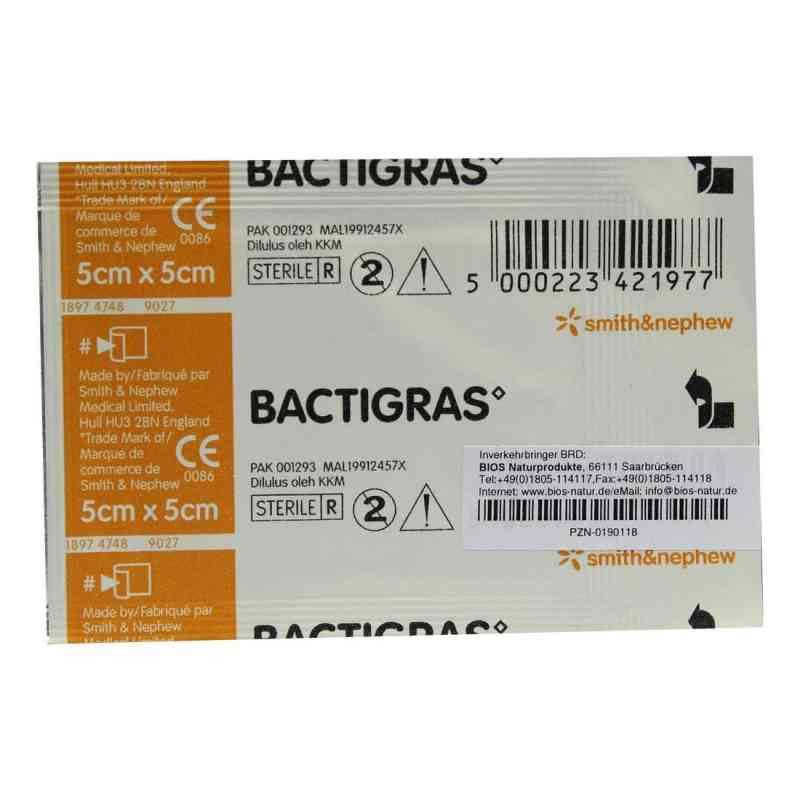 Bactigras Paraffingaze 5x5cm  bei apo-discounter.de bestellen