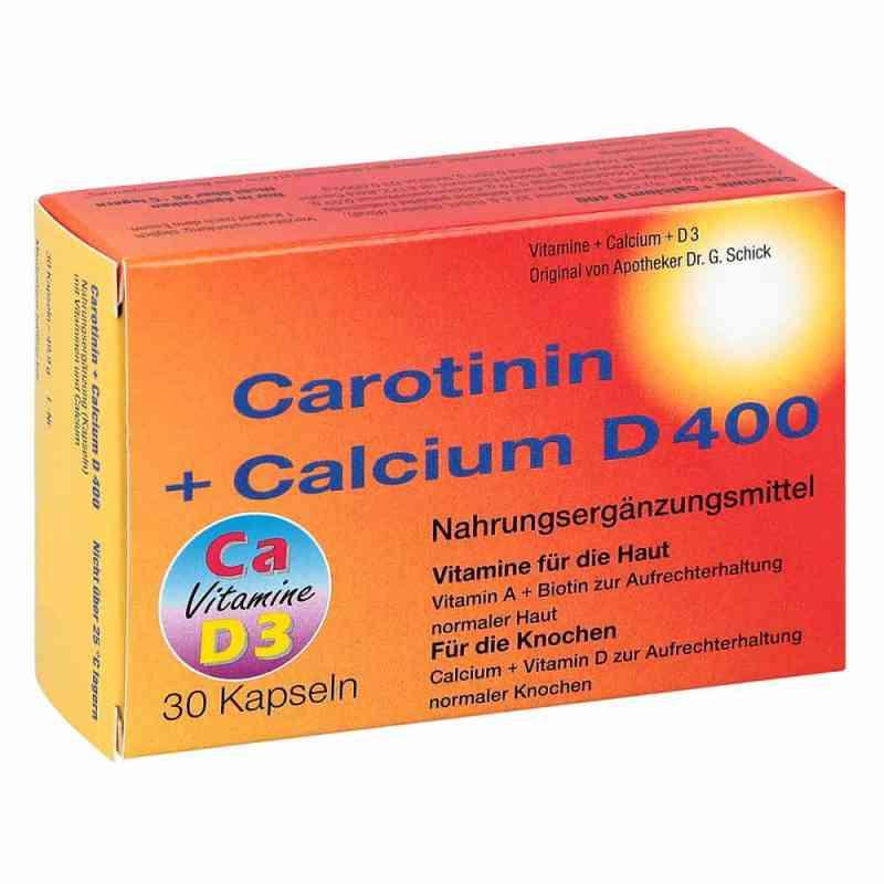 Carotinin + Calcium D 400 Kapseln  bei apo-discounter.de bestellen