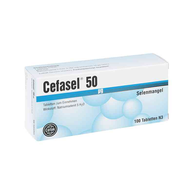 Cefasel 50 [my]g Tabletten  bei apo-discounter.de bestellen