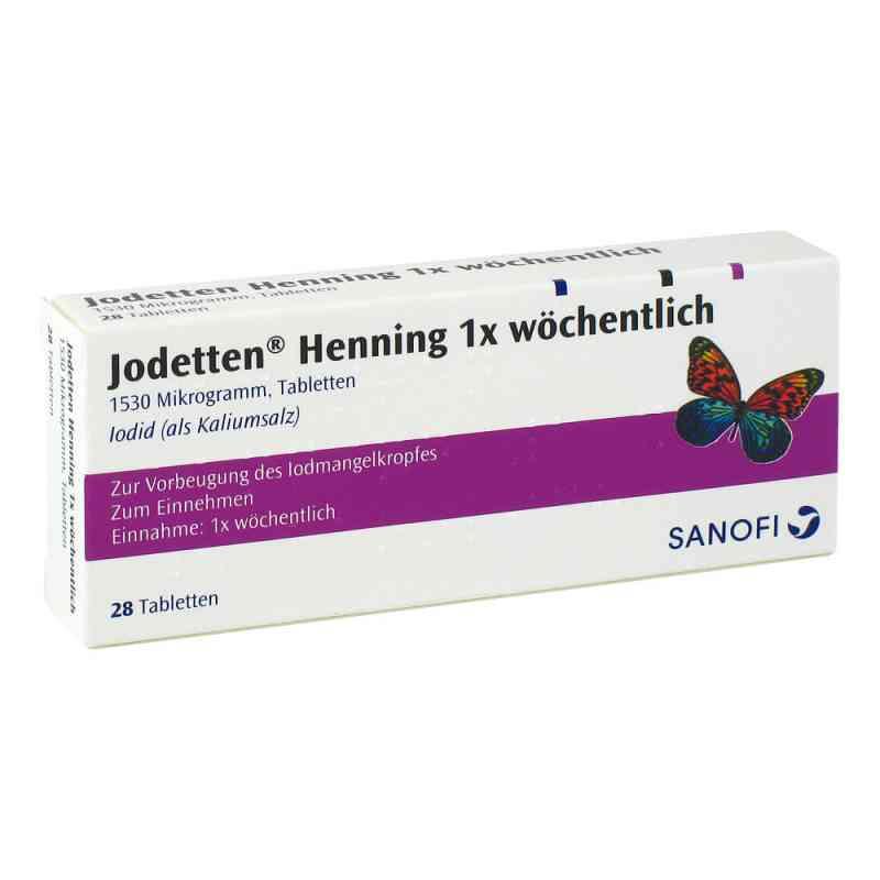 Jodetten Henning 1x wöchentlich 1530 Mikrogramm  bei apo-discounter.de bestellen