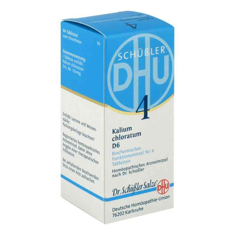 Biochemie Dhu 4 Kalium chlorat. D 6 Tabletten  bei apo-discounter.de bestellen