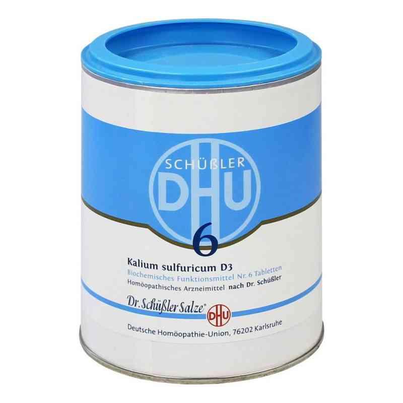 Biochemie Dhu 6 Kalium Sulfur D3 Tabletten  bei apo-discounter.de bestellen