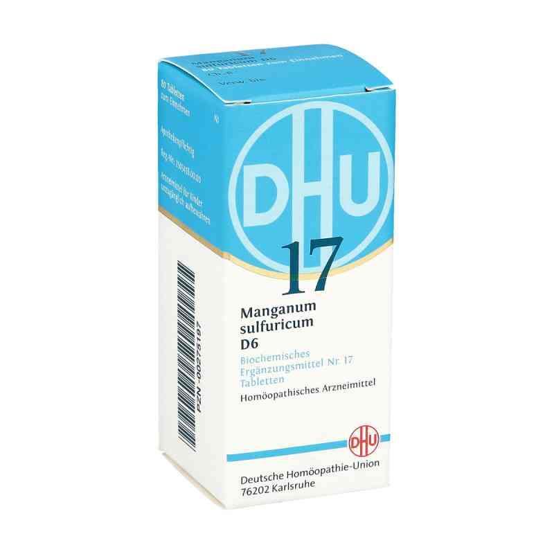 Biochemie Dhu 17 Manganum sulfuricum D6 Tabletten  bei apo-discounter.de bestellen