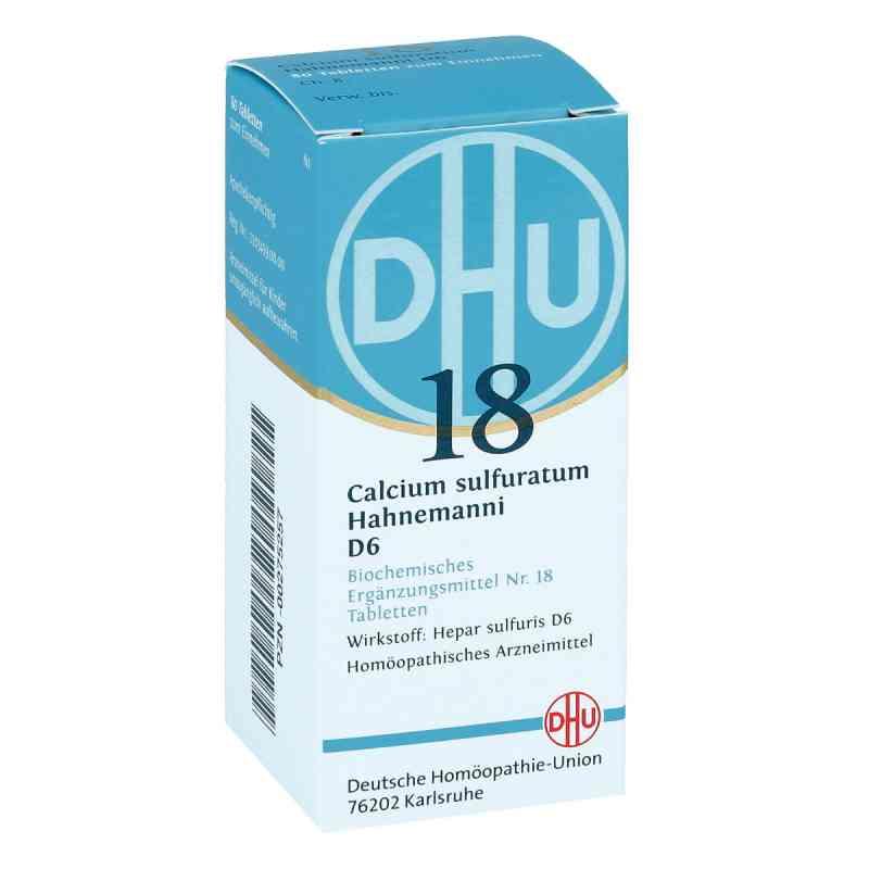 Biochemie Dhu 18 Calcium sulfuratum D6 Tabletten  bei apo-discounter.de bestellen