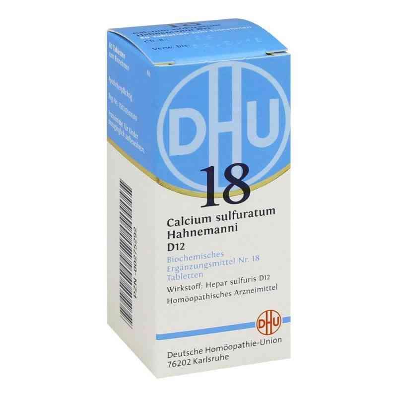 Biochemie Dhu 18 Calcium sulfuratum D12 Tabletten  bei apo-discounter.de bestellen