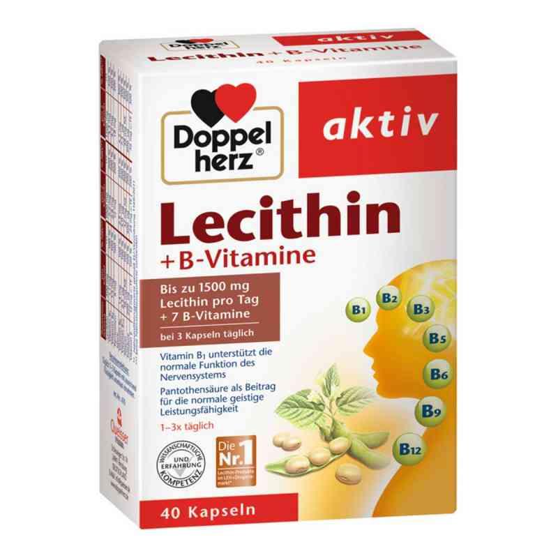 Doppelherz Lecithin + B-vitamine Kapseln  bei apo-discounter.de bestellen