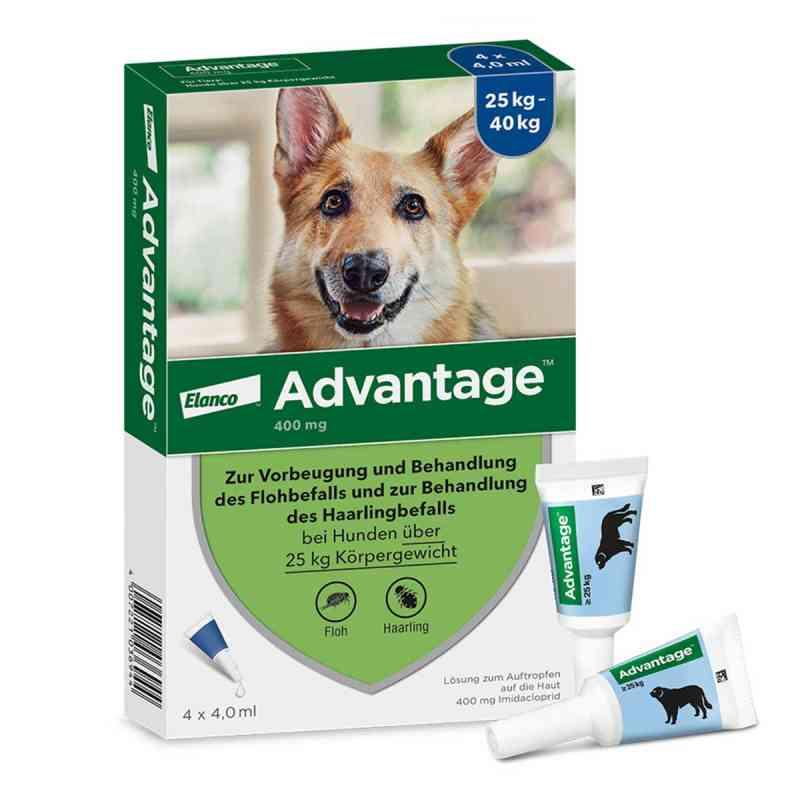 Advantage 400 für Hunde Lösung  bei apo-discounter.de bestellen