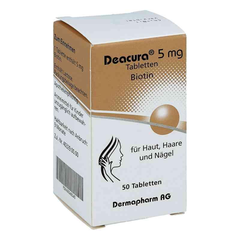 Deacura 5 mg Tabletten  bei apo-discounter.de bestellen