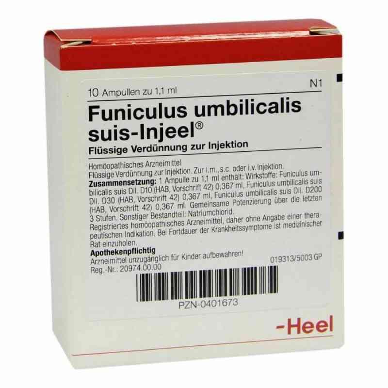 Funiculus Umbilicalis suis Injeel Ampullen  bei apo-discounter.de bestellen