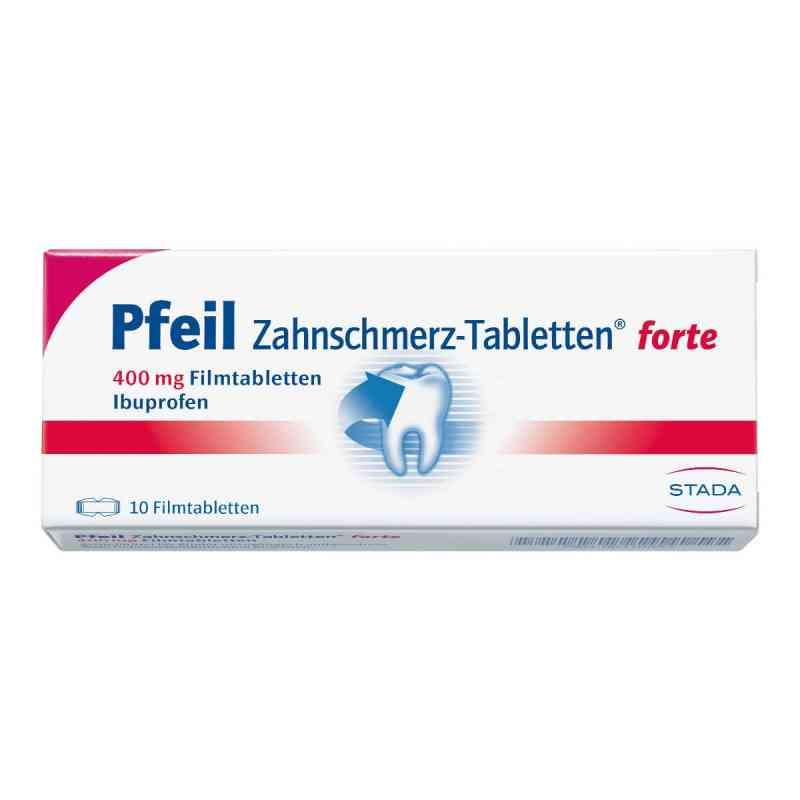 Pfeil Zahnschmerz-Tabletten forte 400mg  bei apo-discounter.de bestellen