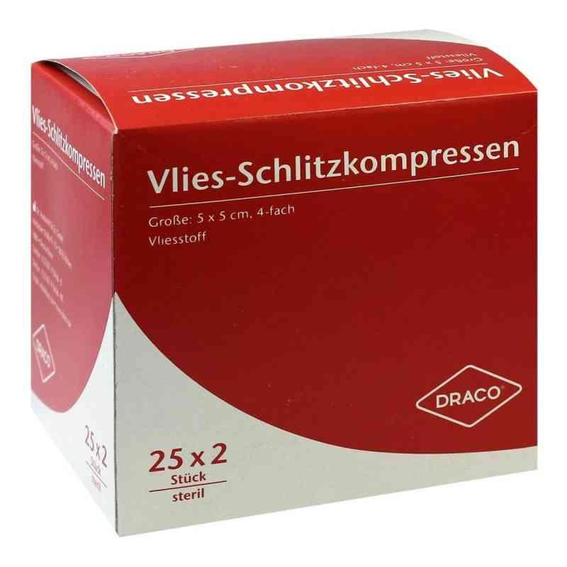 Schlitzkompressen Vlies 5x5cm 4fach steril  bei apo-discounter.de bestellen