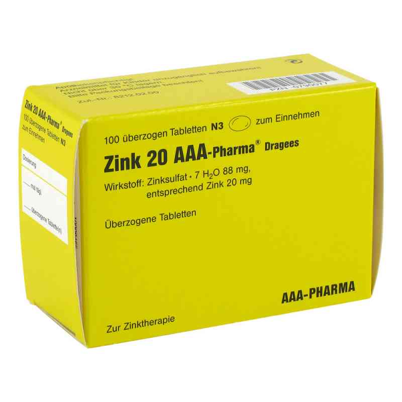 Zink 20 AAA-Pharma  bei apo-discounter.de bestellen