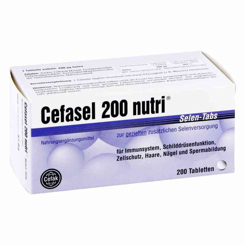 Cefasel 200 nutri Selen Tabs Tabletten  bei apo-discounter.de bestellen