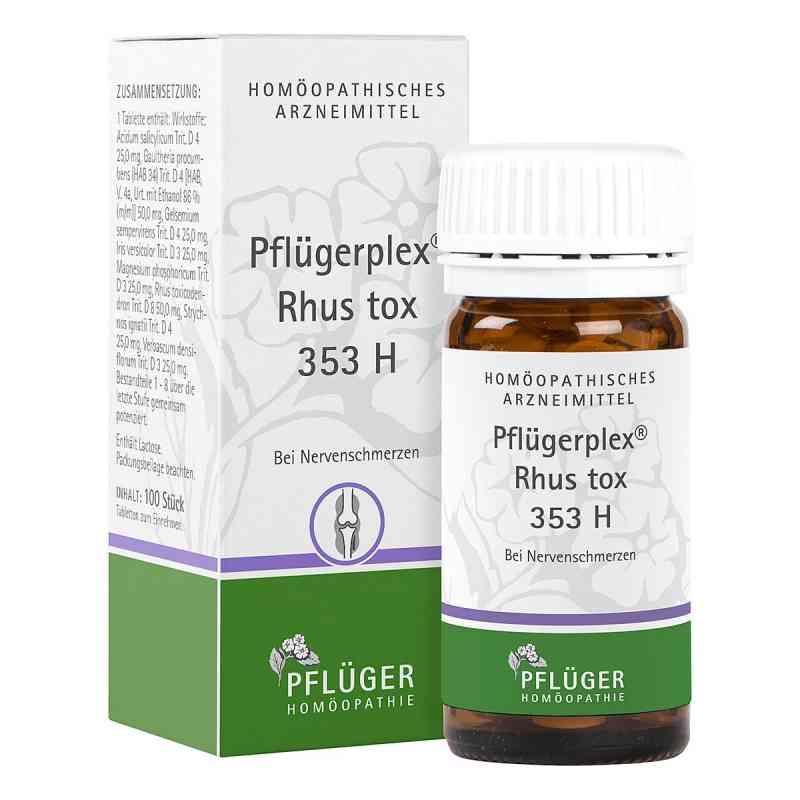 Pflügerplex Rhus tox. 353 H Tabletten  bei apo-discounter.de bestellen