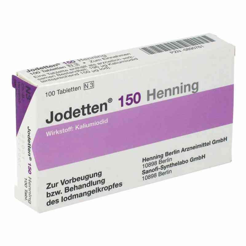 Jodetten 150 Henning 150 Mikrogramm  bei apo-discounter.de bestellen