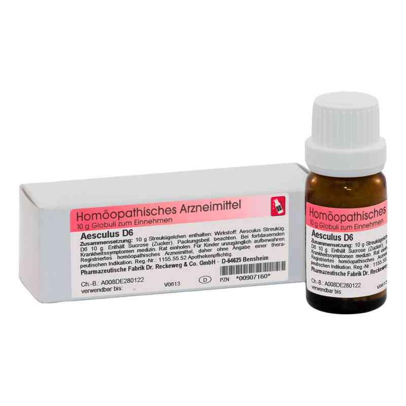 Aesculus D 6 Globuli  bei apo-discounter.de bestellen