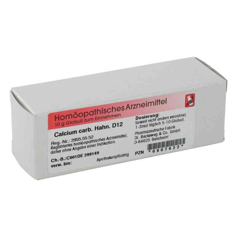Calcium Carbonicum Hahnemanni D 12 Globuli  bei apo-discounter.de bestellen