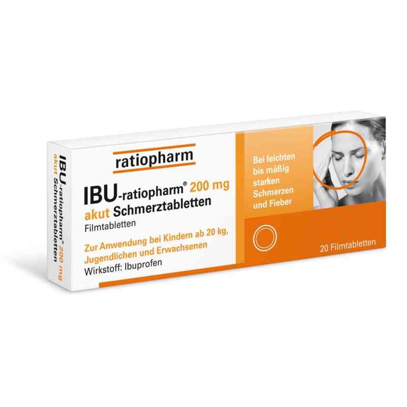 IBU-ratiopharm 200 akut Schmerztabletten  bei apo-discounter.de bestellen