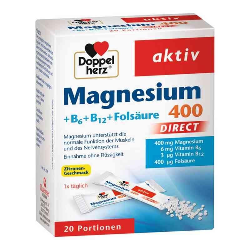 Doppelherz Magnesium + B Vitamine Direkt Pellets  bei apo-discounter.de bestellen