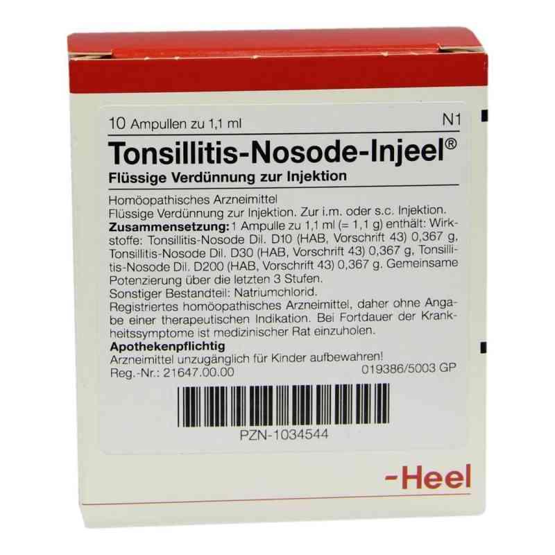 Tonsillitis Nosode Injeel Ampullen  bei apo-discounter.de bestellen