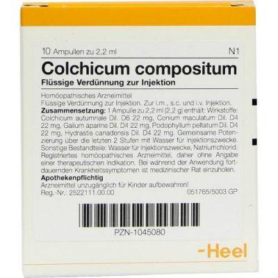 Colchicum Compositum Ampullen  bei apo-discounter.de bestellen