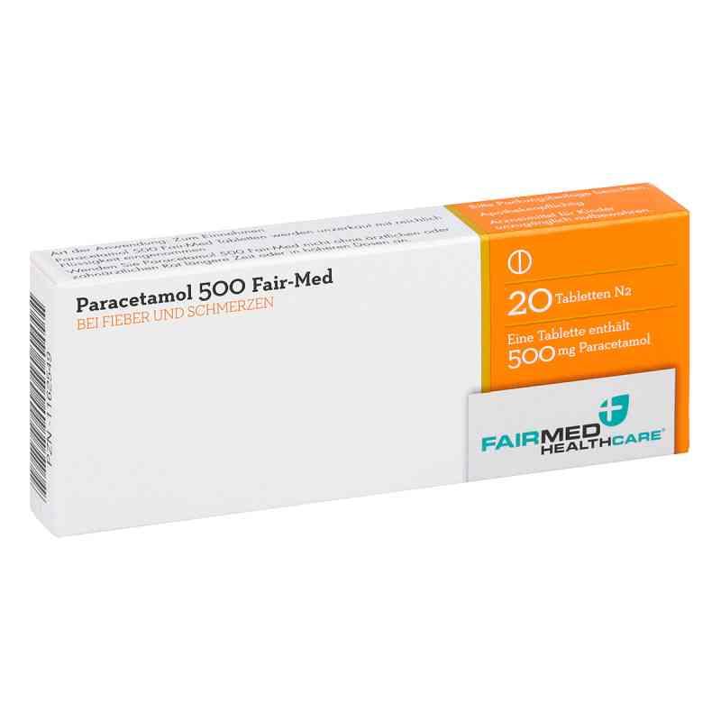 Paracetamol 500 Fair-Med  bei apo-discounter.de bestellen