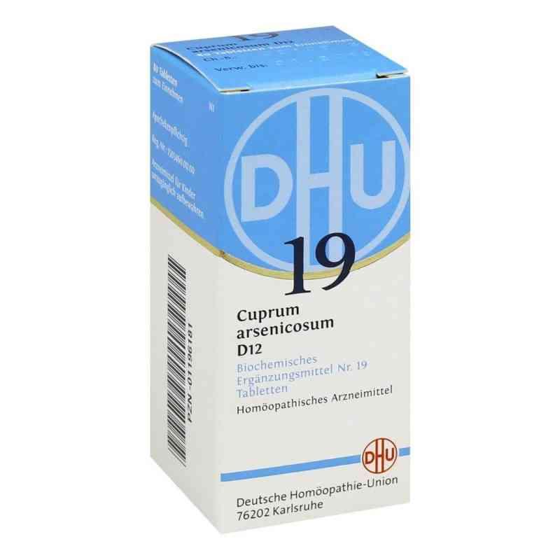 Biochemie Dhu 19 Cuprum arsenicosum D12 Tabletten  bei apo-discounter.de bestellen