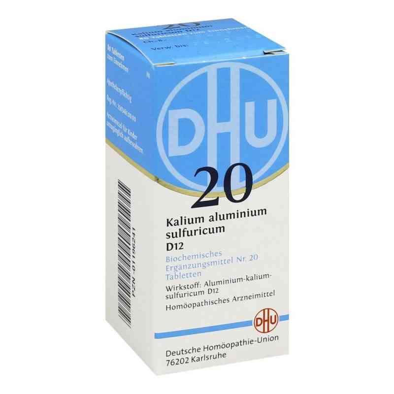 Biochemie Dhu 20 Kalium alum.sulfur. D 12 Tabletten   bei apo-discounter.de bestellen