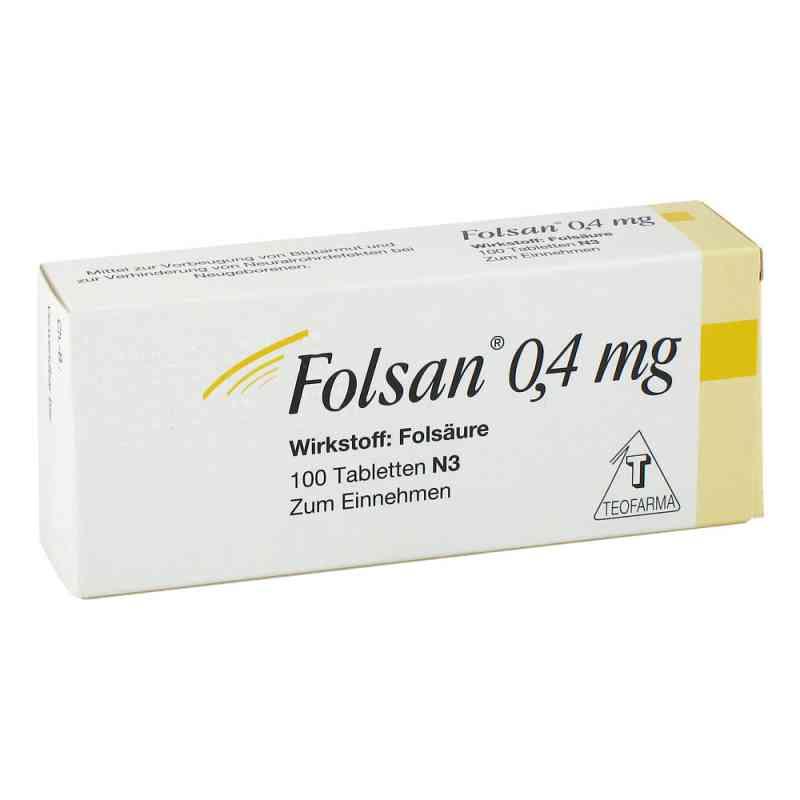 Folsan 0,4 mg Tabletten  bei apo-discounter.de bestellen