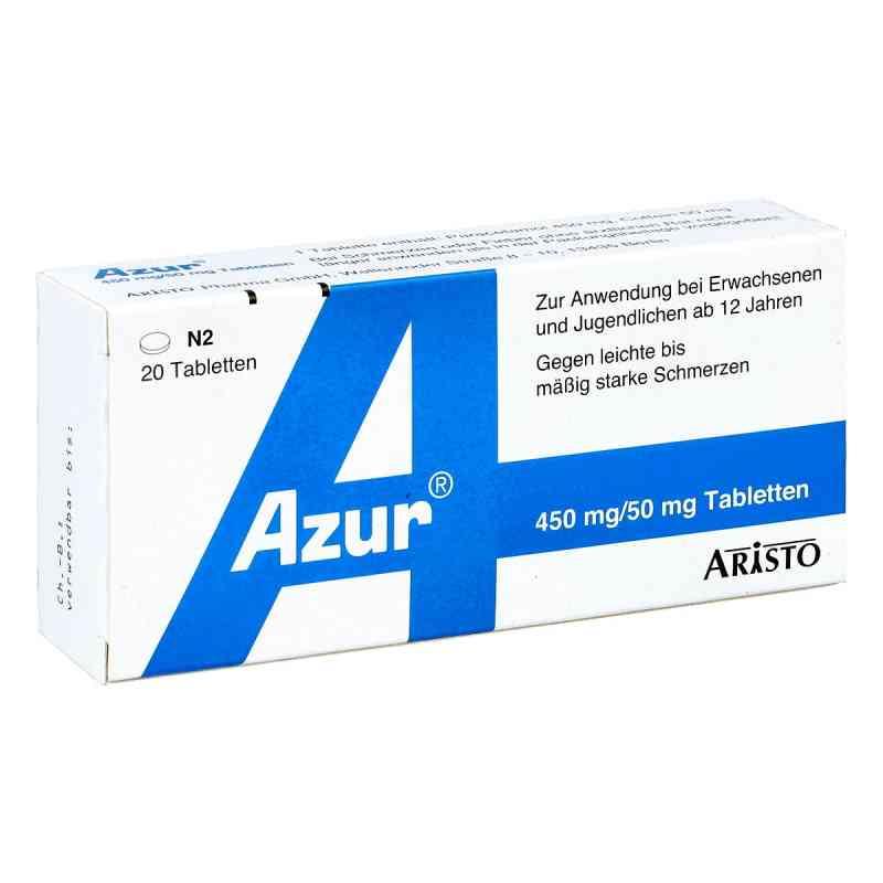 Azur 450mg Paracetamol/50mg Coffein  bei apo-discounter.de bestellen