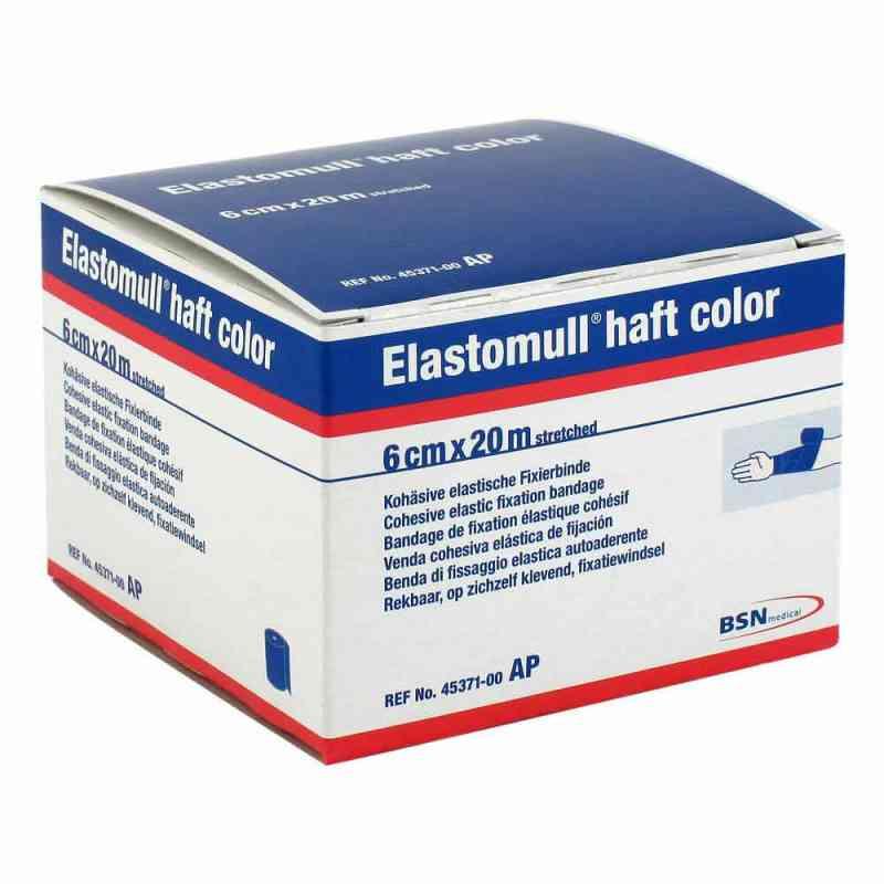 Elastomull haft color 20mx6cm blau Fixierbinde   bei apo-discounter.de bestellen