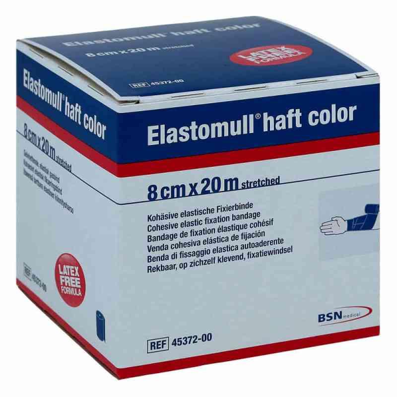 Elastomull haft color 20mx8cm blau Fixierbinde   bei apo-discounter.de bestellen