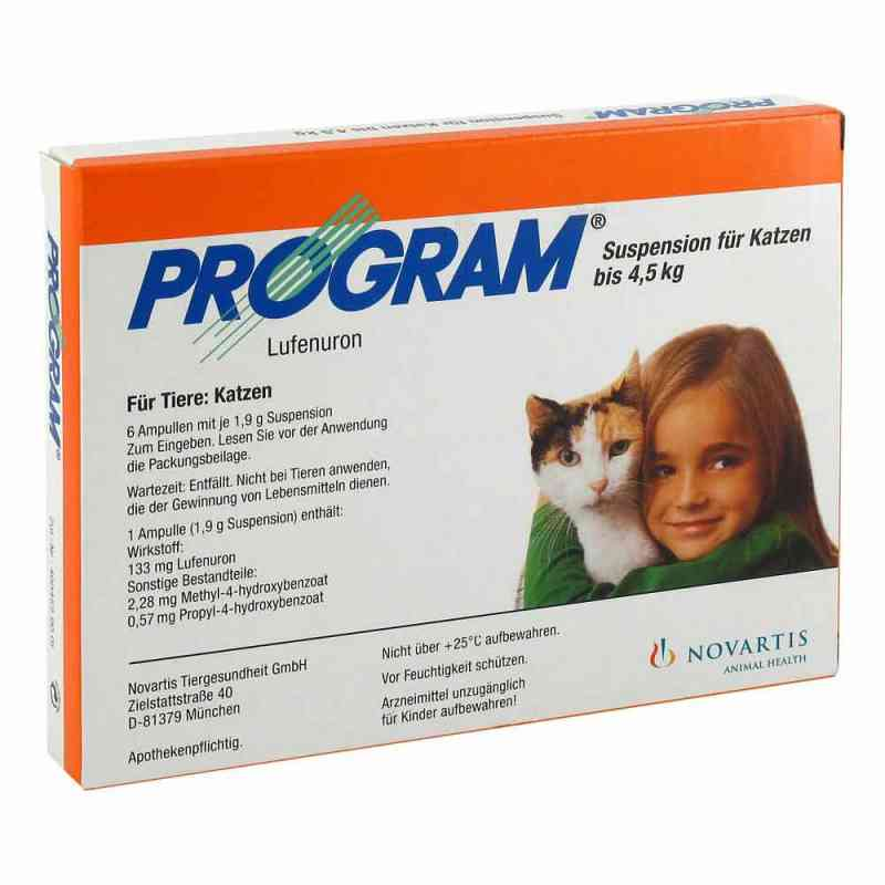 Program Suspens.f.katzen b.4,5 kg/133 mg Ampullen  bei apo-discounter.de bestellen