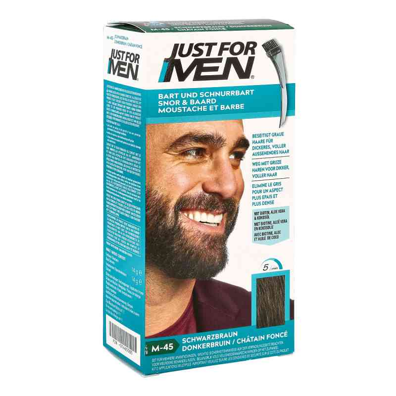 Just for men Brush in Color Gel schwarzbraun  bei apo-discounter.de bestellen