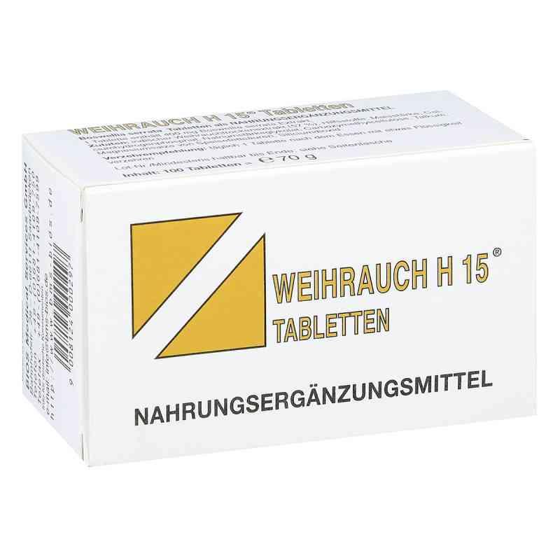 Weihrauch H15 Tabletten  bei apo-discounter.de bestellen