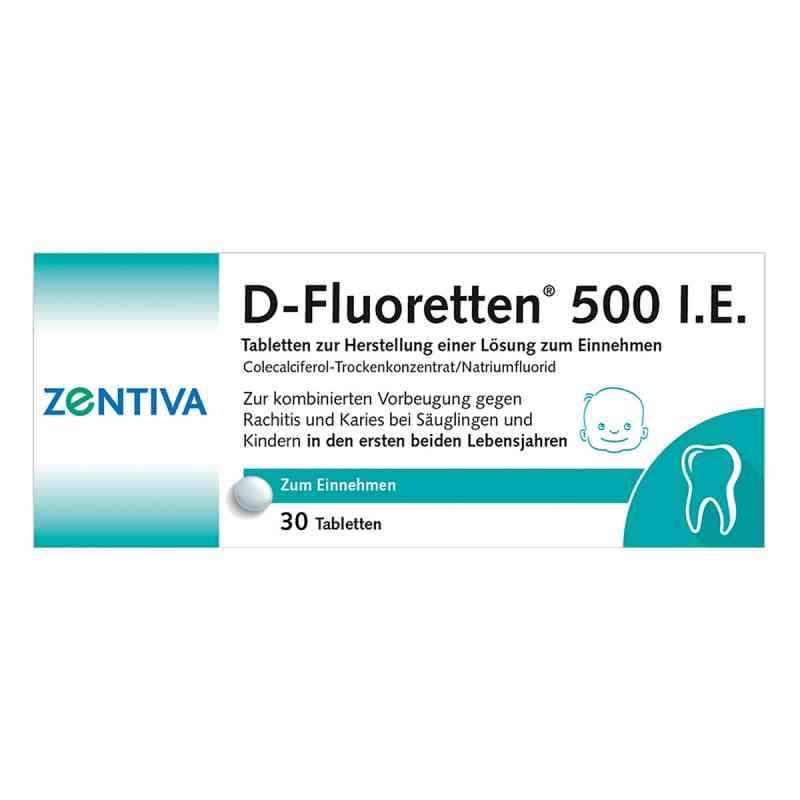 D-Fluoretten 500 internationale Einheiten  bei apo-discounter.de bestellen