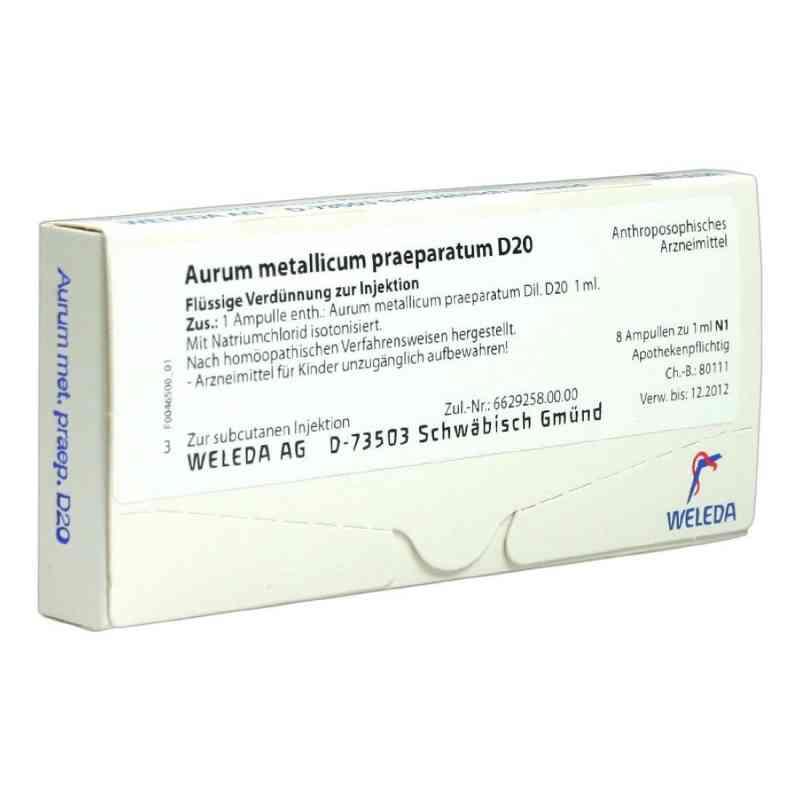 Aurum Metallicum Praep. D20 Ampullen  bei apo-discounter.de bestellen