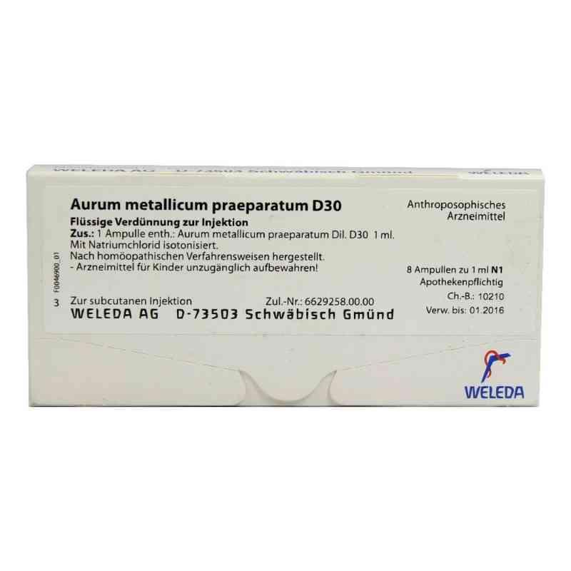 Aurum Metallicum Praep. D30 Ampullen  bei apo-discounter.de bestellen