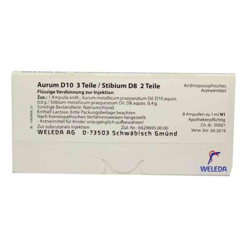 Aurum D10/ Stibium D8 Ampullen  bei apo-discounter.de bestellen