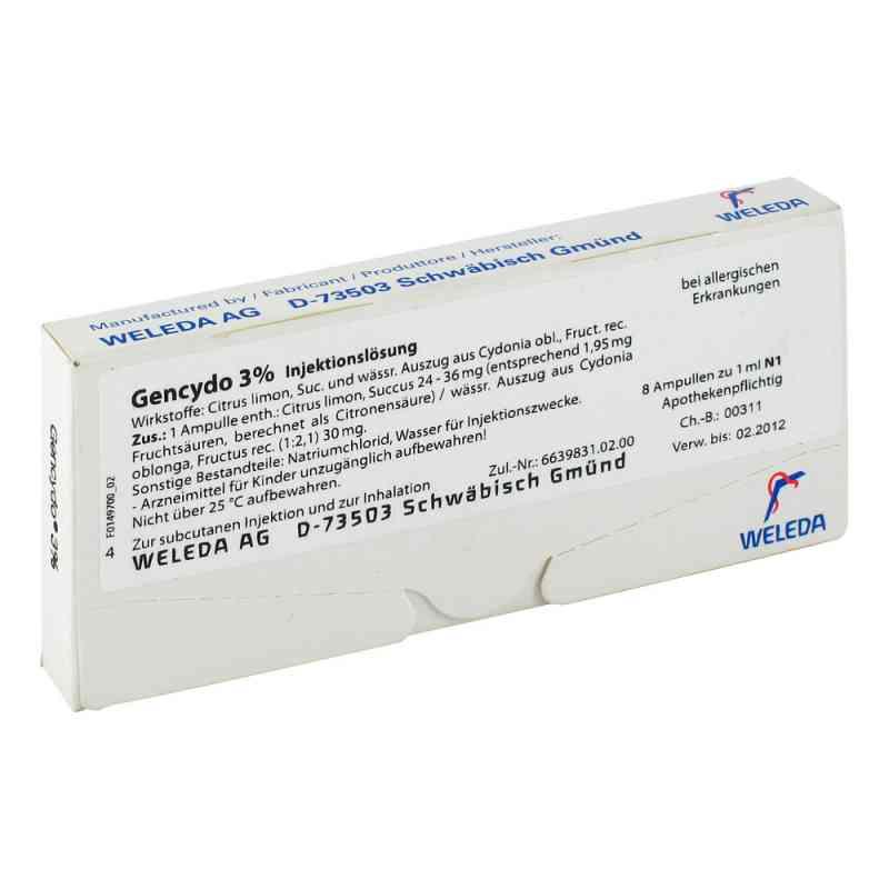 Gencydo 3% Injektionslösung  bei apo-discounter.de bestellen