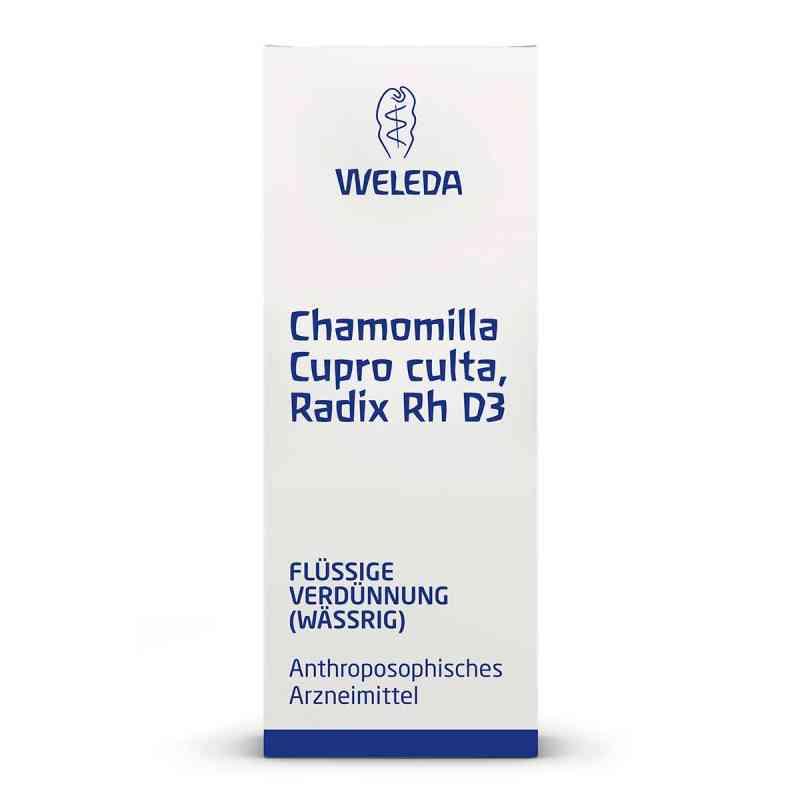 Chamomilla Cupro culta Radix Rh D3 Dilution  bei apo-discounter.de bestellen