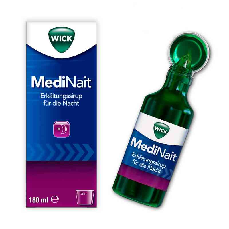 WICK MediNait Erkältungssirup für die Nacht  bei apo-discounter.de bestellen