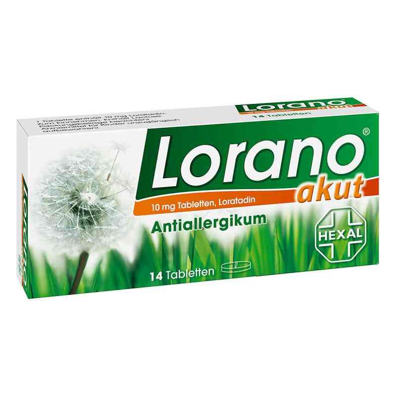 Lorano akut  bei apo-discounter.de bestellen